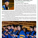 """Going Forth with Compassion"" Dr. Ruth Lawrence, 2015 Commencement Address of the University of Rochester School of Medicine"