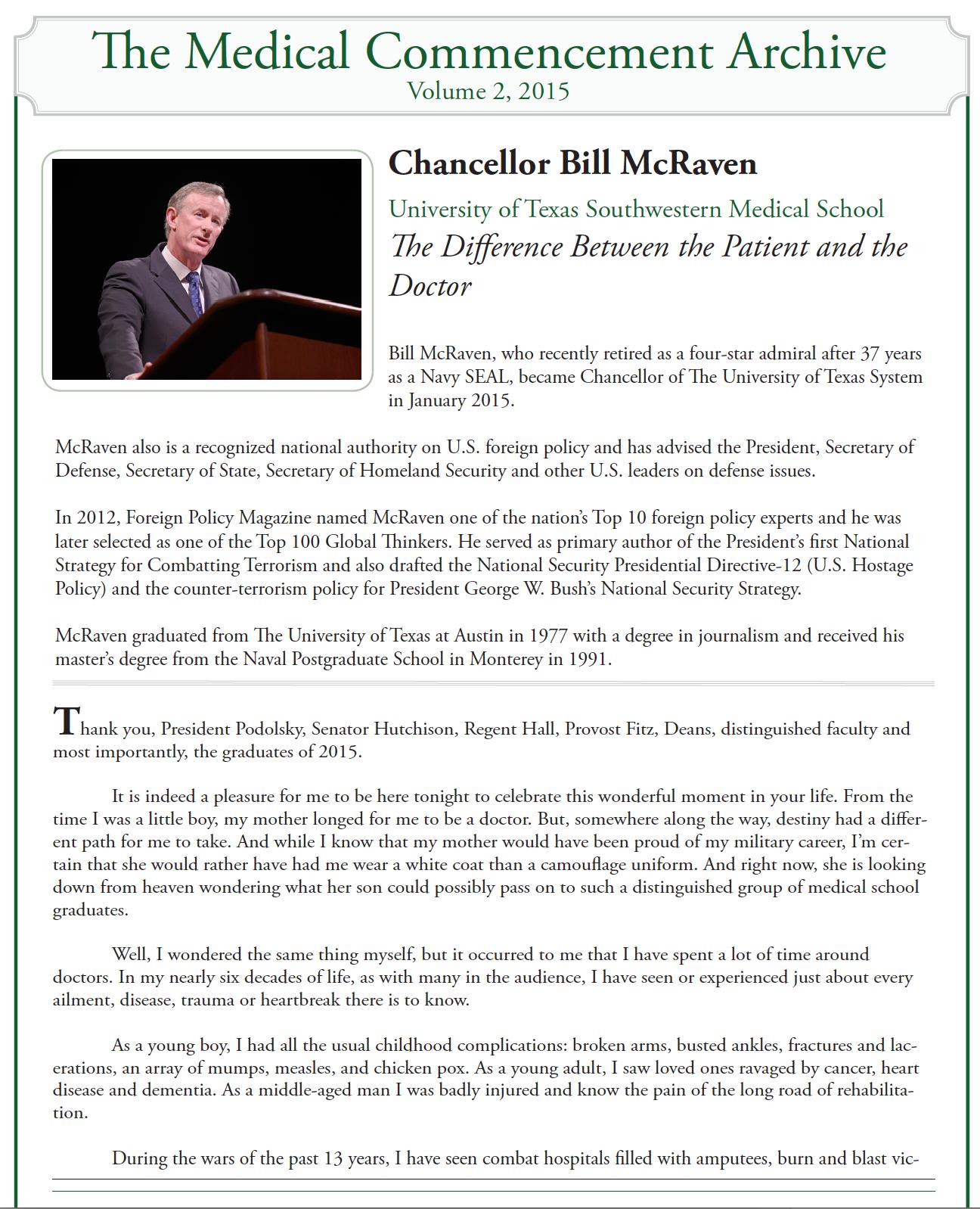 mcraven commencement speech