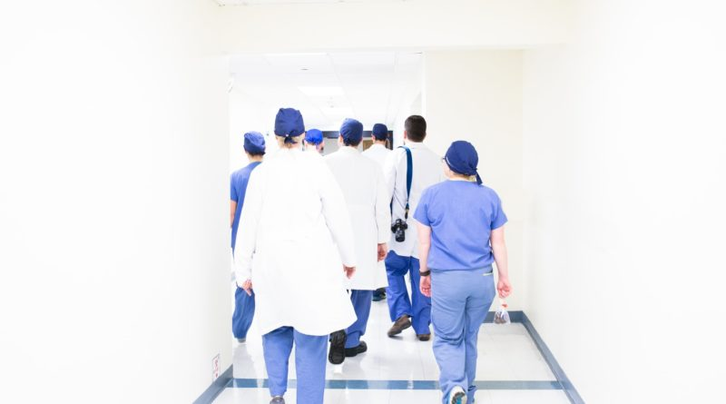a group of medical workers